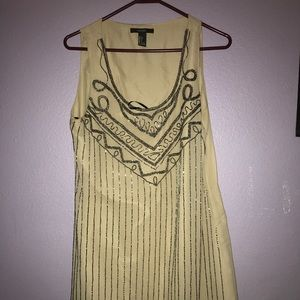 Forever 21 Knee length Gatsby Dress